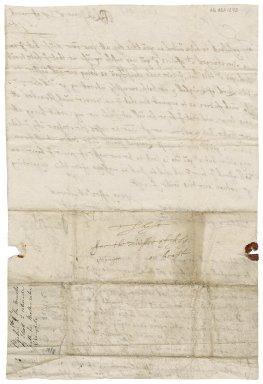 Letter from John Ogilvy of Balfour to Thomas Robertson, Minister of Alyth, Blakstoun