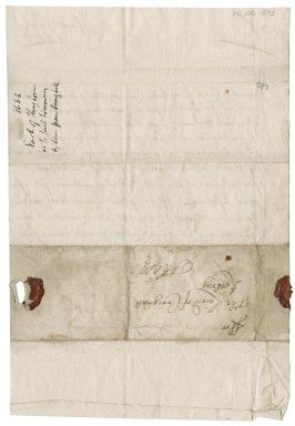 Letter from Earl of Kinghorne to Patrick Rattray of Craighall, Huntly