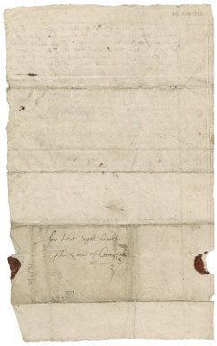 Letter from David Drummond to Patrick Rattray of Craighall, Coupar