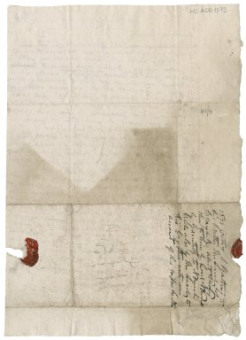 Letter from John Rattray to Patrick Rattray of Craighall (brother), Abercrombie