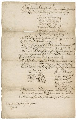 Note on Palmer's charity of which Edwin Rich, Esq., with Dr. [Ralph] Brownrig and others, was a trustee
