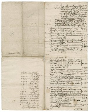 Inventory of the goods and chattels of Richard Rich, late of Mulbarton, Norfolk, deceased