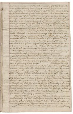 Report by Richard Gibson of Sir Richard Munden's errors in his journal to Saint Helena in 1673
