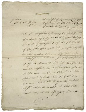 Papers arising out of Sir Charles's executorship of the will of his brother, Sir Edwin: (X.d.451 (29-34))