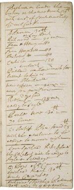 Journal of Sir Robert Rich (1648-1699)