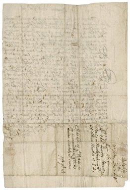 Letter from Benjamin Solley, Barsham, near Beecles, Suffolk, to Edmund Foster, attorney of Marlesford, near Wickham Market, Suffolk