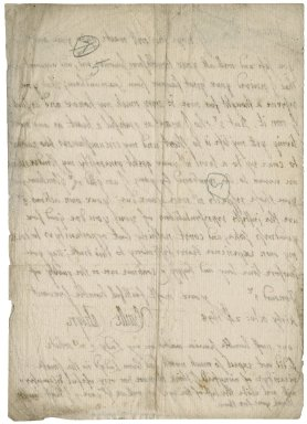 Letter from Sir Neville Catelyn, Kirby, Norfolk, to Sir Robert Rich