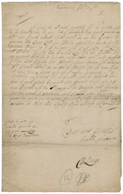 Letter from M. Leman, Beacondale, to Sir Robert Rich