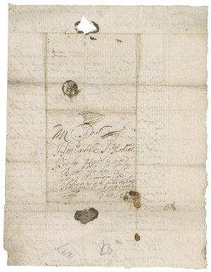 Letters from Robert Rich (nephew) to Sir Robert Rich: X.d.451 (190-192)