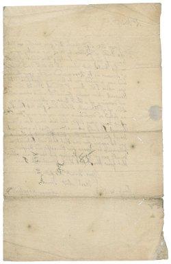 Letter from Simon Shephard to Sir Robert Rich