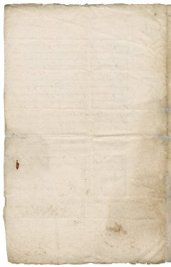 Letter from Benjamin White, attorney, to Sir Robert Rich