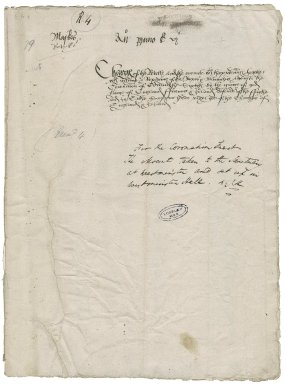 Great Britain. Office of the revels. Maskes ... Anno primo Edwardi vjti. Charges of the Revelles and the Mounte...