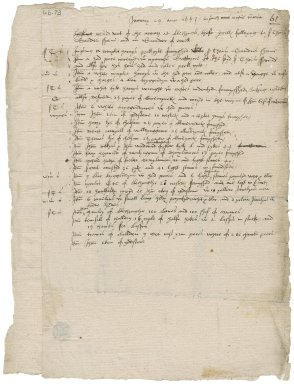 Deliuered out of the armary at blechyngle, these parcelles folloyng / to sir Thomas Saunder sheue / and mr Saunder of evell ... by leonard mascall / Thomas butcher Seruantes.