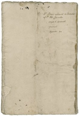 More, Sir William. Accounts of disbursements as executor of the estate of Sir Thomas Cawarden.