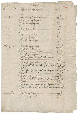 Great Britian. Office of the revels. A summary of certain Tents and Revels accounts extending from 4 Edward VI to 1 and 2 Philip and Mary.