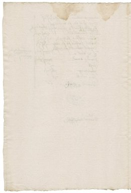 Great Britain. Office of the revels. Memorandum of expenses.