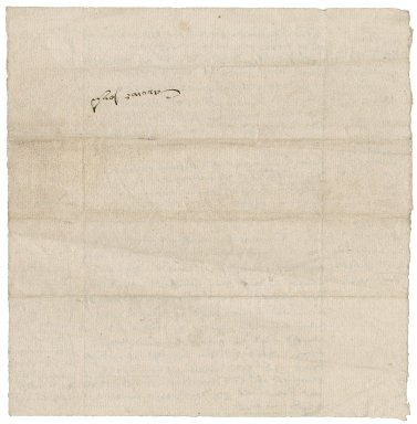 Carowe, John. Bill of John Carowe for work 1555 to 1558. To Revels office.