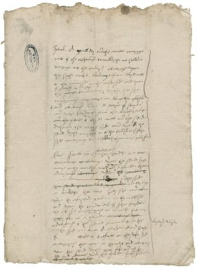 Cawarden, Sir Thomas. Blakfryrs Survey.