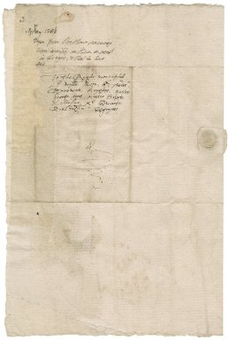 Fryer, Thomas. Autograph letter signed. To Sir William More and other Commissioners for religion in Surrey.