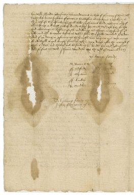 Great Britain. Privy Council. Letter signed by ten members. To the sheriff and justices of the peace of Surrey. Windsor.