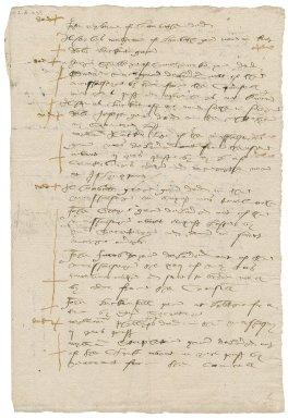 More, Sir William. Memorandum of recusants of Surrey.