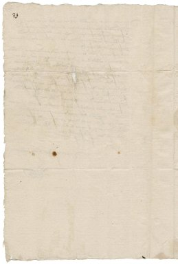 Young, Richard. Autograph letter signed. To William More and Laurence Staughton. London.