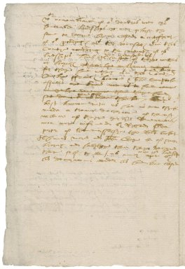 More, Sir William. List of recusants of Surrey, with a draft letter to the Privy Council.