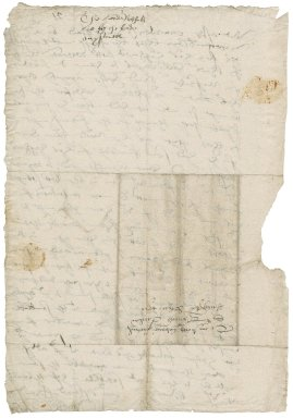 Northumberland, John Dudley, Duke of. Autograph letter signed. To Sir Thomas Cawarden.