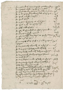 Great Britain. Office of the revels. Charges of the kinges Reuelles and maske on shorof Sonday and Shorof tewsday at hys gratious pallays of westmynster Anno Regni Regis heriti [sic] viijui xxxiiij to [1543].
