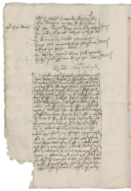Great Britain. Office of the revels. The Charges of the Kynges hyghnes Maskes & Revelles in Christemas in the xxvijth yere of the Reigne of our soveraine Lorde Henry theyght...