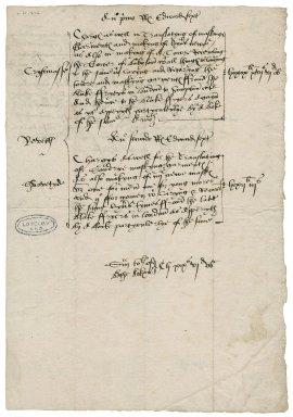 Great Britain. Office of the revels. Anno primo Regni Regis Edwardi sexti Christmasse Revelles Shrovetyde ... Anno secondo...