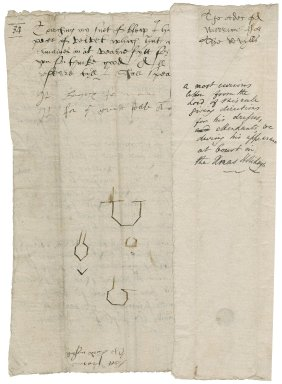 Ferrers, George. Letter signed. To Sir Thomas Cawarden.