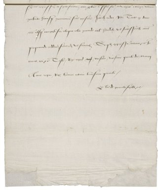 Great Britain. Court of augmentations. Letters patent granting property in the Blackfriars to Richard Tate. (copy ca. 1545).