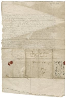 Letter from Sir John Moncreiff of that Ilk and Sir Thomas Ruthven of Freeland to David Rattray of Craighall, Perth