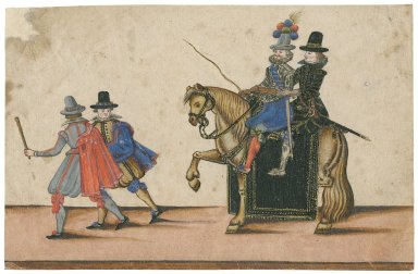 [Royal, military and court costumes of the time of James I]