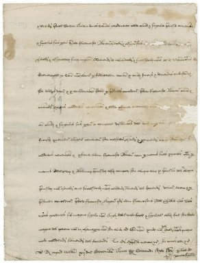 Great Britain. Court of augmentations. Grant to Sir Francis Bryan of property in the Blackfriars. [Copy ca. 1550].