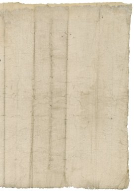 [Losse, Hugh], probable author. At the black ffryers besides Ludgate in London. A Surveye of certen Edifices buyldenges and voyde grounde there taken the xviijth daye of Marche in the seconde yere of the reigne of kinge Edwarde the sixte by [blank].