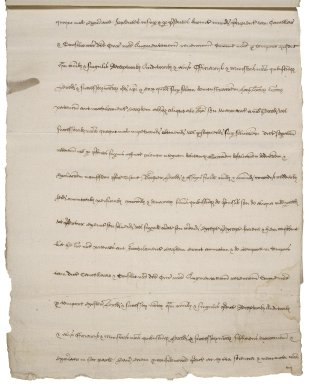 Great Britain. Court of augmentations. Grant to Thomas bouchier of several parcels of property in the Blackfriars. [copy,