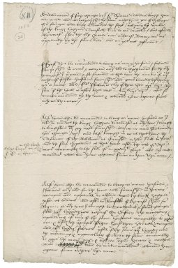 Cawarden, Sir Thomas. A declaracion of sech charges as I ser Thomas Cauerden knight haue ben putto and accomplished the same in the third yere of threign of our souereigne lorde king Edwarde the sixte ... by vertue of the kinges highnes Counsailles letteres to me directed ... ffor the whiche promes was made of Recompenses as apperithe by the same letteres but as yet not performed.