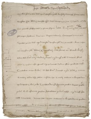 Great Britain. Court of augmentations. Letters patent granting the reversion of proerty in Blackfriars to John Gates and Thomas Thorogood. Original: Copy: