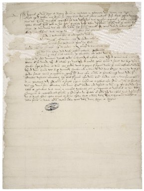 Harris, Robert. Decision of the jury in a suit between Harris and Lady Anne Grey about some Blackfriars property.