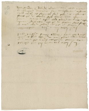 More, Sir William. Memoranda concerning grants of properties in the Blackfriars.