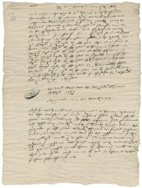 Cawarden, Sir Thomas. Extracts from the wills of Sir Thomas and Lady Elizabeth Cawarden,
