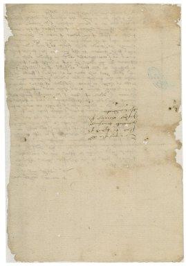More, Sir William. Letter to William Herbert, Earl of Pembroke.