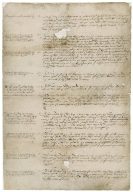 More, Sir William. Notes on grants, leases, tenures, statutes, and customs concerning the Blackfriars property.