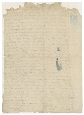More, Sir William. Autograph copy of a letter. To Henry Poole. Blackfriars.
