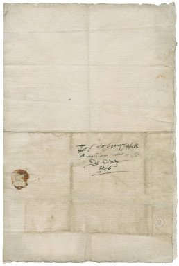 Farrant, Richard. Autograph letter signed. To Sir William More. London.