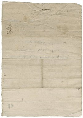 Great Britian. Exchequer. Certificate of a commission on Blackfriars property.