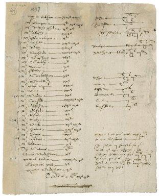 More, Sir William. Blackffryers ... 1590.