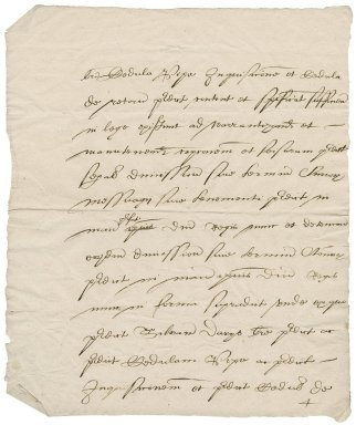 Great Britain. Attorney general. Document of a law case involving Silvanus Davies and certain properties in Blackfriars.